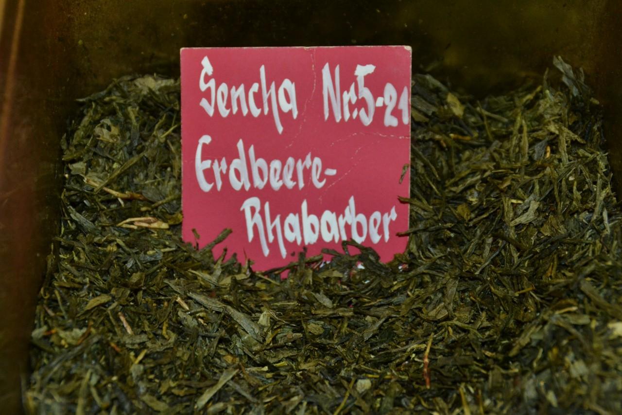 Sencha Erdbeer - Rhabarber