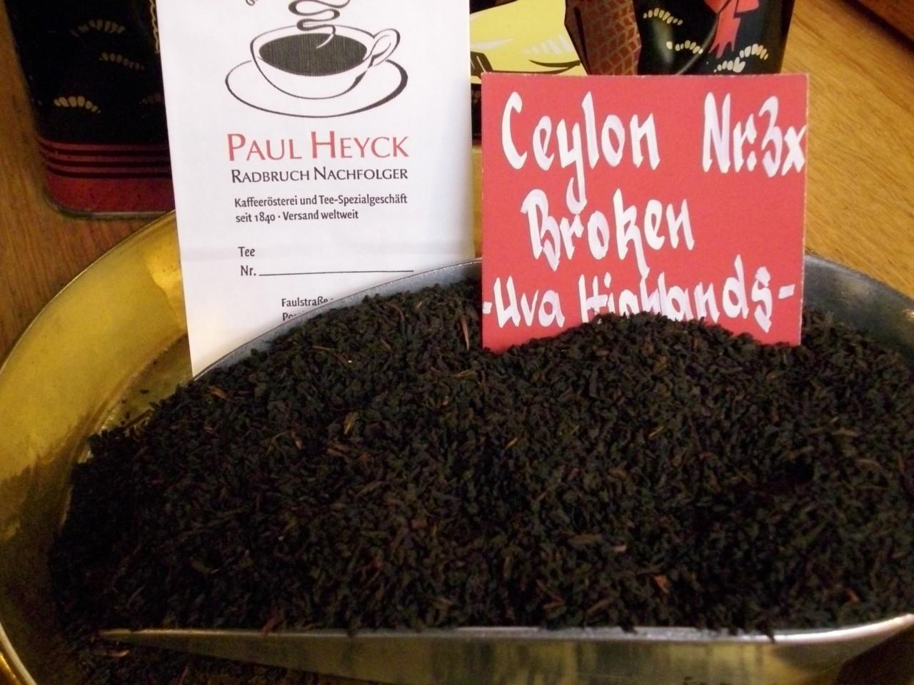 Ceylon Blatt 3x