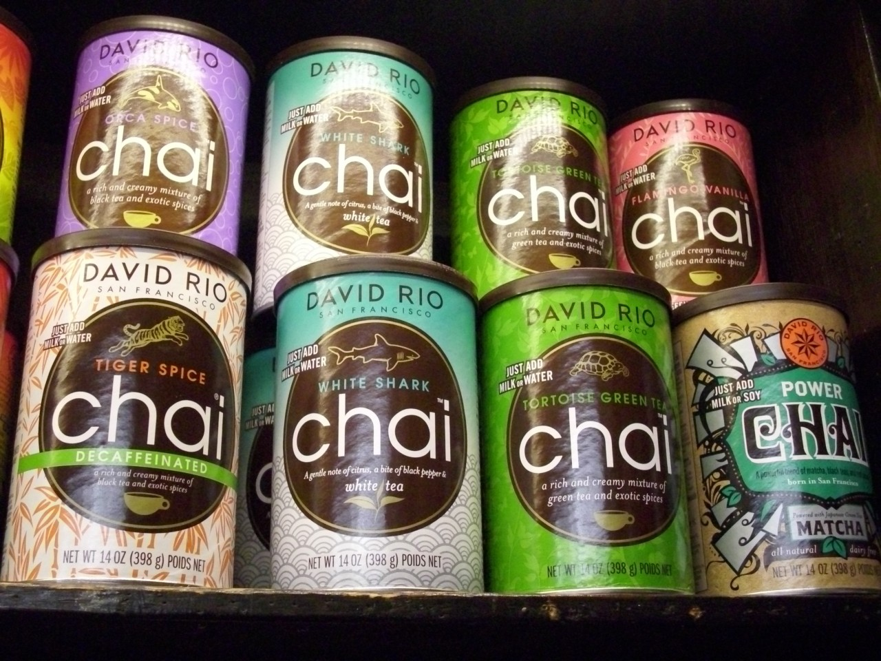 Chai Green Tea 398gr Dose