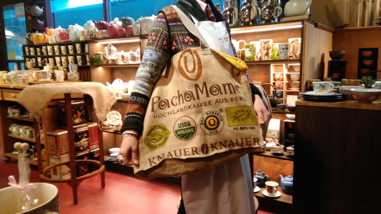 Tasche aus Kaffeesäcken