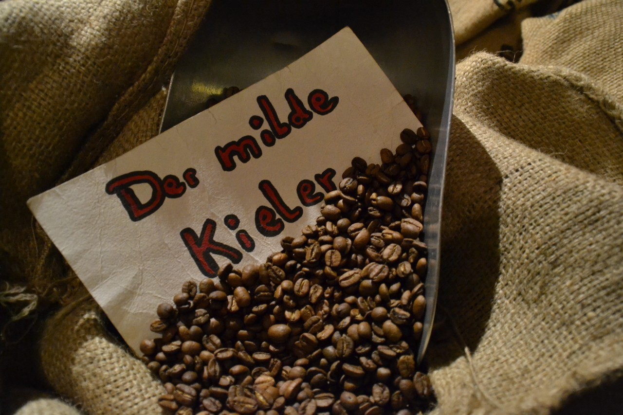 "Kaffee ,,Der milde Kieler"""