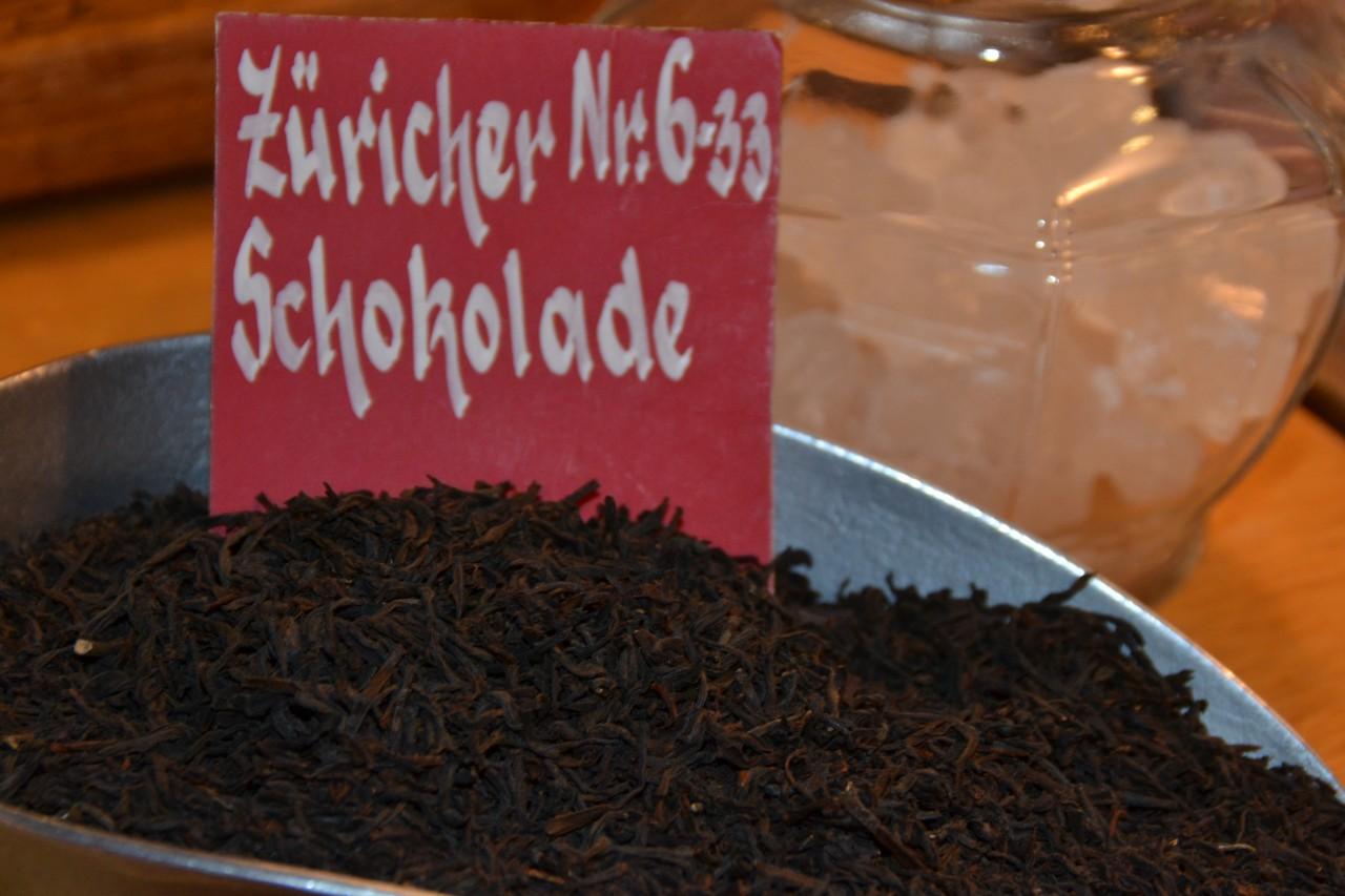 Schwarztee Züricher Schokolade