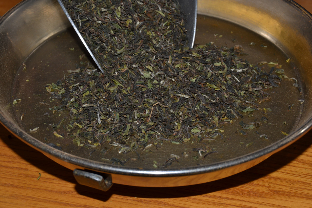 Darjeeling first flush Ernte 2020