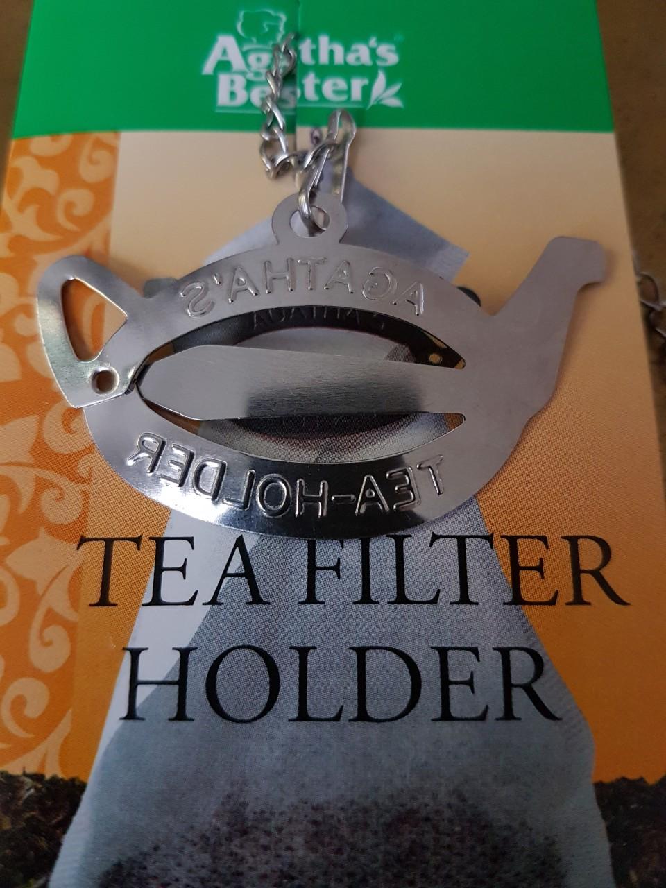 Teefilter Halter Spange
