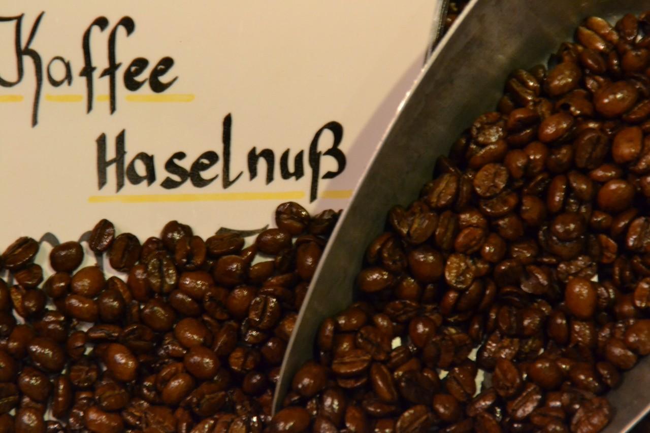 Kaffee Haselnuß