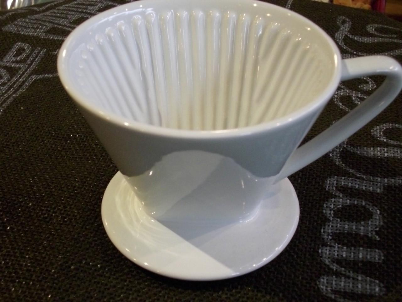 Kaffee-Porzellan-Filter NR.4