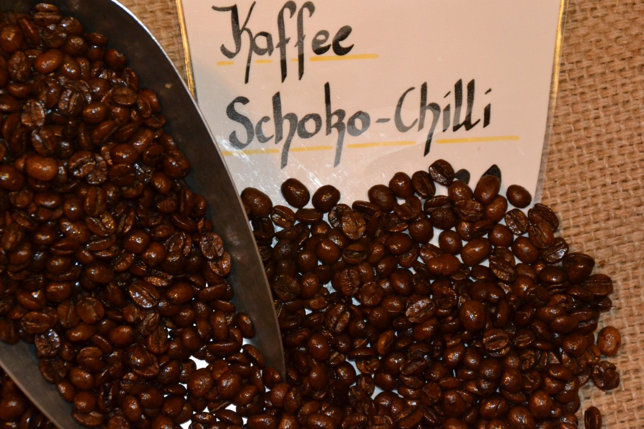 Kaffee Schoko-Chilli