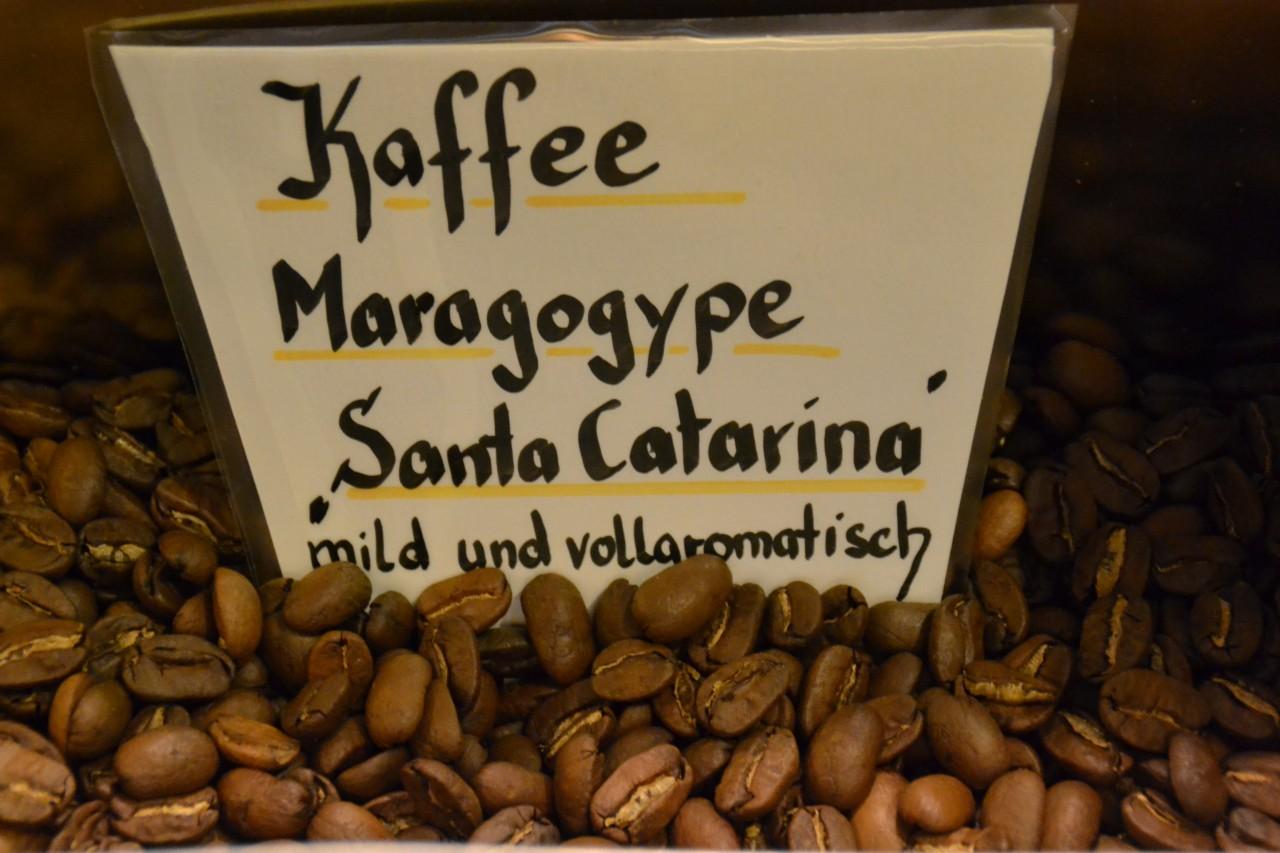 "Kaffee Maragogype ,,Santa Catarina"""