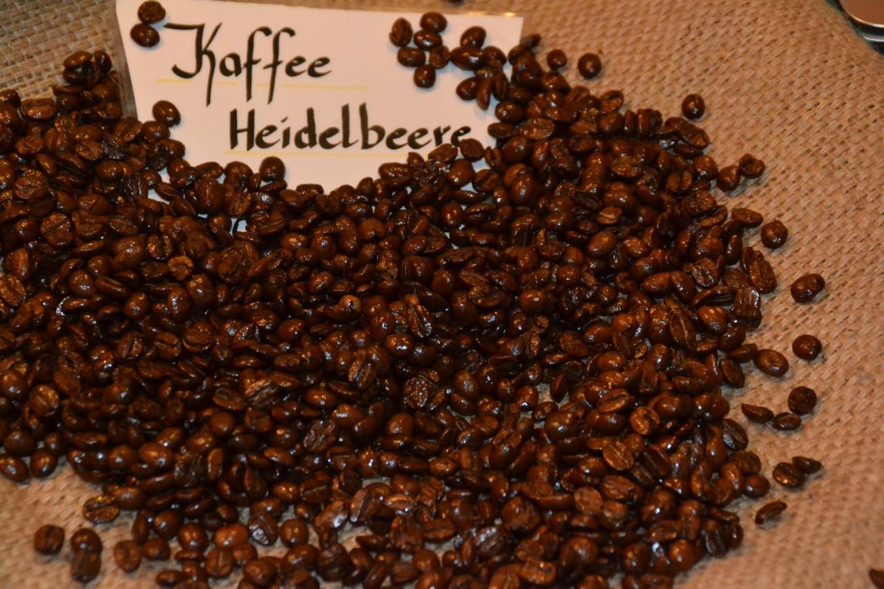 Kaffee Heidelbeere