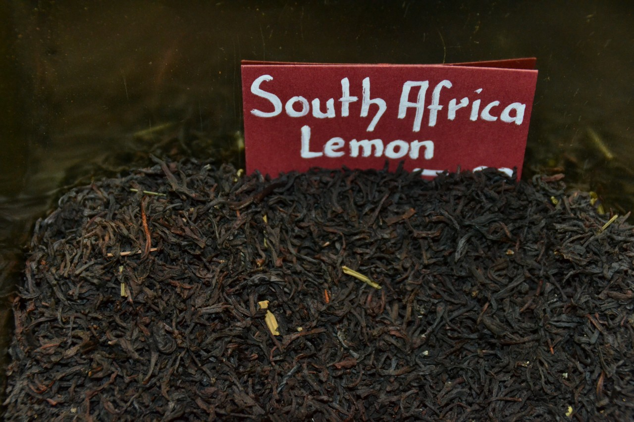Schwarztee South Africa Lemon